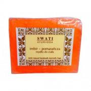 Swati Ayurveda mydło imbir i pomarańcza 100g