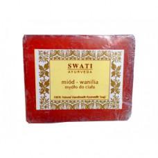 Swati Ayurveda mydło miód z wanilią 100g
