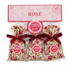 Woreczek zapachowy Różany x3 Le Chatelard
