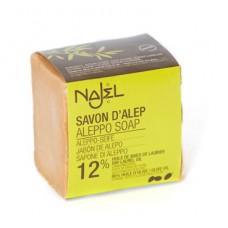 Mydło z Aleppo 12% 200g