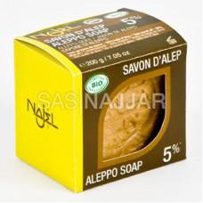 Mydło z Aleppo 5% BIO 200g