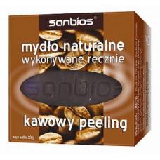 Mydło naturalne kawowy peeling 100g