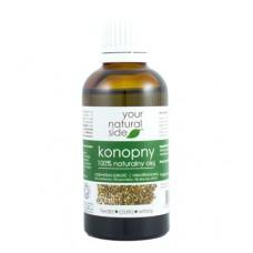 Olej konopny nierafinowany Organic 50ml