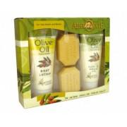 Zestaw upominkowy do pielęgnacji ciała i dłoni - Olive Oil nr 1